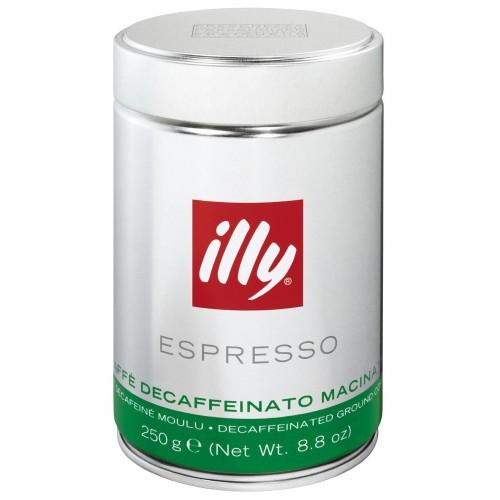Cafea macinata illy Espresso Decafeinizata - 250g