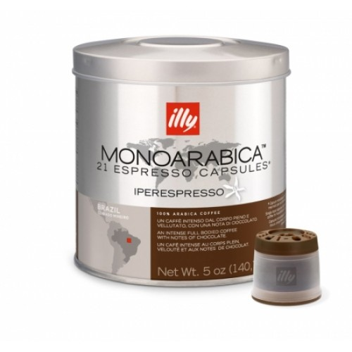 Capsule illy Iperespresso Monoarabica Brasil