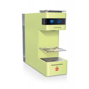 Espressor Francis Francis Y3 verde - pentru capsule illy iperespresso