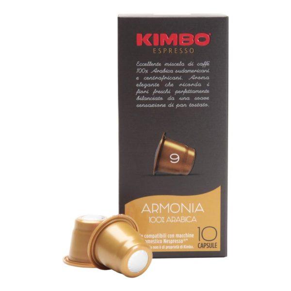 kimbo-armonia-arabica-espresso-nespresso-capsules